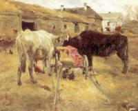 Волы (этюд). 1885