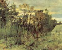 Осенний вечер. Домотканово. 1886