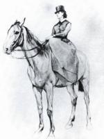 Амазонка М.Ф. Мамонтова 1884