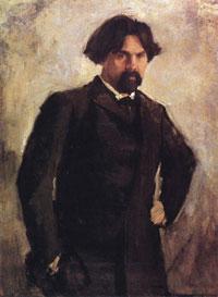 Портрет В.И. Сурикова (В.А. Серов)