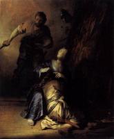 Рембрандт Самсон и Далила