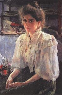 Портрет М.Я. Львовой (В.А. Серов)