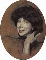 Портрет А.К. Бенуа (В.А. Серов, 1908 г.)