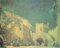 Эскиз декорации. 1907