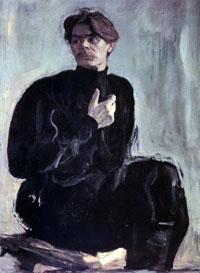 Портрет Максима Горького (В.А. Серов)