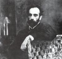 Портрет И.И. Левитана. 1893