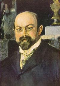 Портрет М.А. Морозова. Фрагмент.