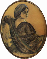 Портрет Г.Л. Гиршман (В.А. Серов, 1911 г.)
