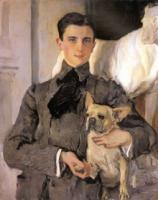 Портрет князя Юсупова.1903