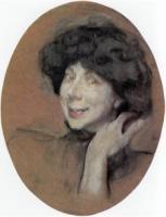 Портрет А.К. Бенуа.1908