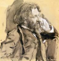 Художник И.Е. Репин. 1900