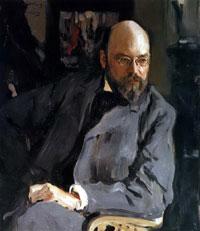 Портрет И.С. Остроухова (В.А. Серов, 1902 г.)