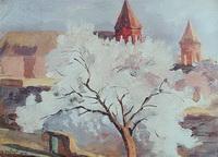 Абрикосовое дерево в цвету (М.С. Сарьян)
