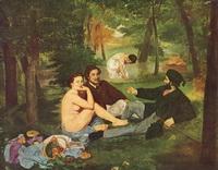 Завтрак на траве (Э. Мане, 1863 г.)