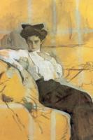 Портрет Г.Л. Гиршман.1906