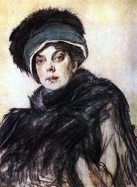 Портрет кн. О.К. Орловой (В.А. Серов, 1911 г.)