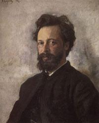 Портрет С.П. Чоколова (В.А. Серов, 1887 г.)