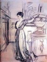 портрет кн. П.А. Щербатовой (В.А. Серов)