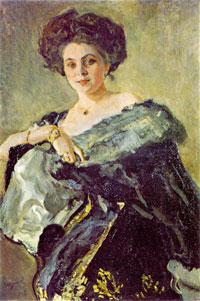 Портрет Е.С. Морозовой (В.А. Серов)