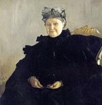 Портрет М.Ф. Морозовой (В.А. Серов, 1897 г.)
