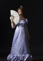 Платье в стиле Бидермайер