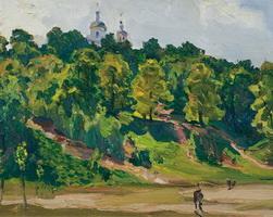 Ленинские горы (Я.Д. Ромас, 1941 г.)