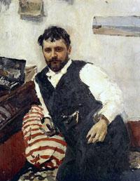 Портрет К.А. Коровина (В.А. Серов, 1891 г.)