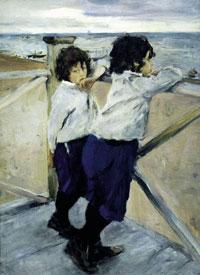 Дети (В.А. Серов, 1899 г.)