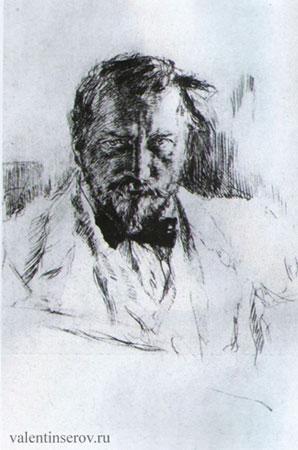 Автопортрет (Серов В.А.)