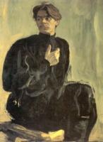 Портрет писателя А.М. Горького. 1905