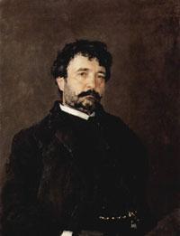 Портрет Анджело Мазини (В.А. Серов, 1890 г.)
