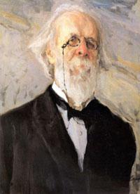 Портрет Д.В. Стасова (В.А. Серов, 1908 г.)