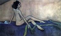 Портрет Иды Рубинштейн (В.А. Серов, 1910 г.)