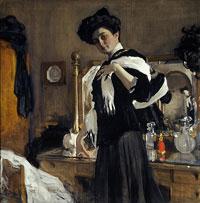 Портрет Г.Л. Гиршман (В.А. Серов, 1907 г.)