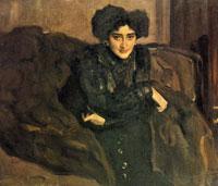 Портрет Е.И. Лосевой (В.А. Серов, 1903 г.)