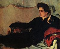 Портрет Н.С. Познякова (В.А. Серов, 1908 г.)