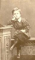 Валентин Серов в 8 лет