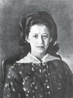 Л.А. Мамонтова. 1884