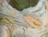 Портрет З.Н. Юсуповой. Фрагмент (В.А. Серов)