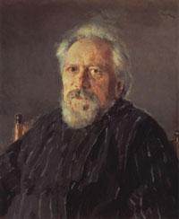 Портрет Н.С. Лескова (В.А. Серов, 1894 г.)