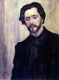 Портрет Л.Н. Андреева (В.А. Серов, 1907 г.)