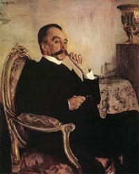 Портрет В.М. Голицина (В.А. Серов, 1906 г.)