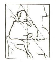 Композиционная схема портрета В.М. Голицына
