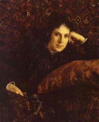 Портрет Е.Н. Чоколовой (В.А. Серов, 1887 г.)