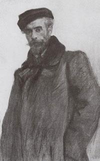 Портрет И.И. Левитана (В.А. Серов)