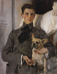 Портрет Ф.Ф. Юсупова (В.А. Серов, 1903 г.)