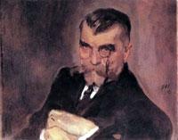 Портрет А.А. Стаховича (В.А. Серов, 1911 г.)