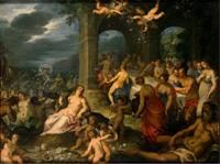 Пир богов.Свадьба Пелея и Фетиды