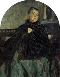 Портрет Г.Н. Федотовой (В.А. Серов, 1905 г.)