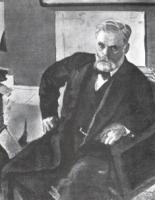 Портрет Э.Л. Нобеля. 1909